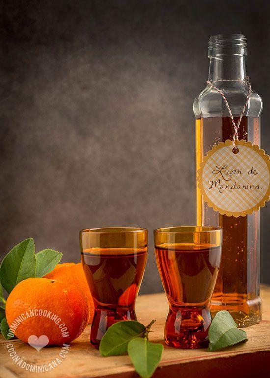 Receta Licor de Mandarina: Una bebida excelente para terminar la cena de navidad con el sabor de una fruta de temporada.