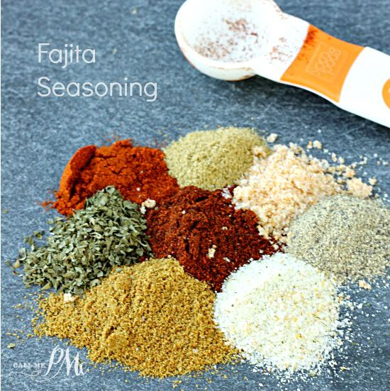 Homemade Fajita Seasoning Recipe is made at home with spices that you already have in your spice rack!