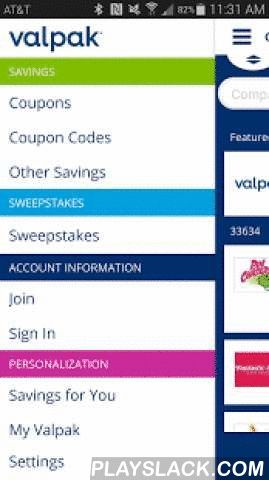 Valpak® Local Coupons  Android App - playslack.com ,  Wherever you go, coupons will follow you with the coupon app from Valpak®.Start saving today with the Valpak® local coupons app. As the trusted leader in neighborhood value, Valpak now delivers local coupons right to your Android device. Get exclusive coupons for restaurants, auto care, entertainment, beauty, home & garden, health & medical, professional services and retail shops near you! Valpak helps people save, businesses grow…