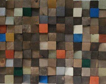 Woodburning teruggewonnen hout wall Art, hout mozaïek & geometrische kunst, kunst aan de houten muur, rustieke houten muur Art, houten sculptuur Abstract houten kunst aan de muur.  Kunst aan de muur hout, op maat gemaakte 3D driehoeken hout kunst aan de muur Modern muur abstracte sculptuur van de muur, handgeschilderde, knippen, geverfd en geschuurd. De afbeelding is uniek en nooit een identieke kopie zal hebben.  Aurora  Breedte: 20 inch Hoogte: 20 inch Dikte: 2-4 inch Gewicht: ongeveer ...