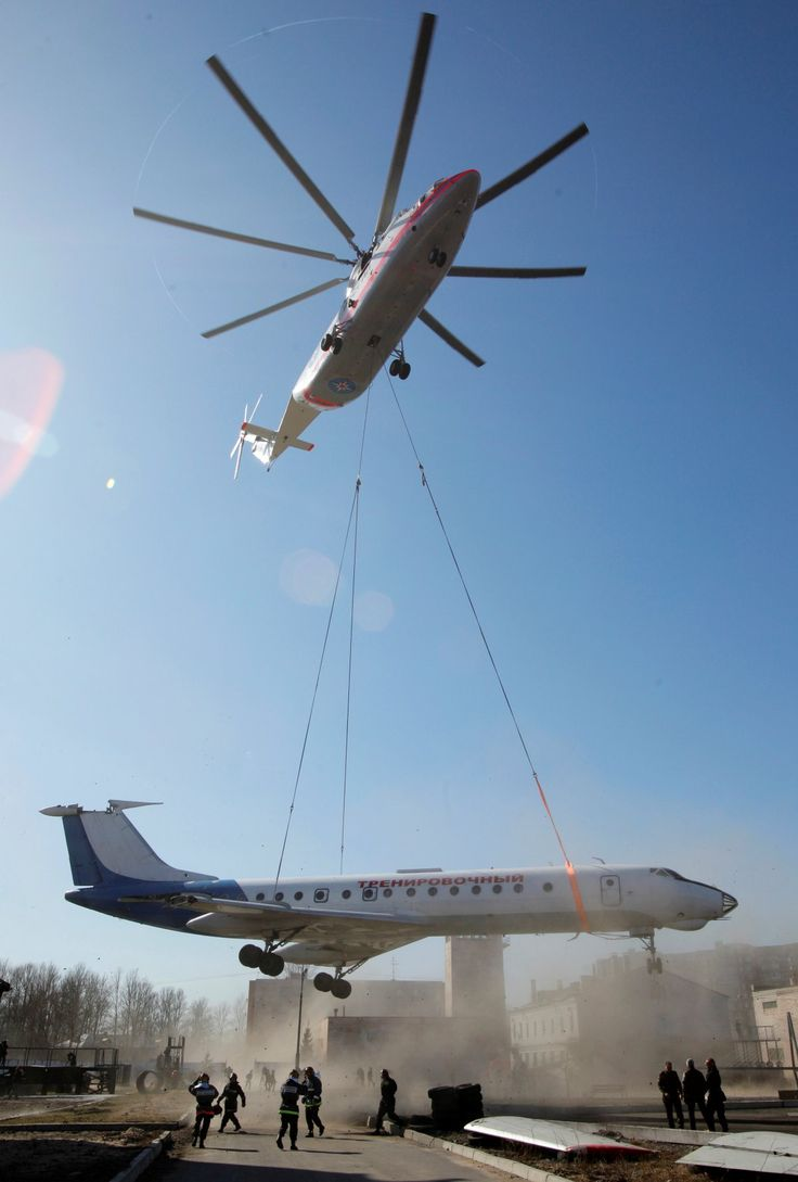 The  Mi-26...The World's Largest Helicopter Can Lift An Airliner With Remarkable Ease