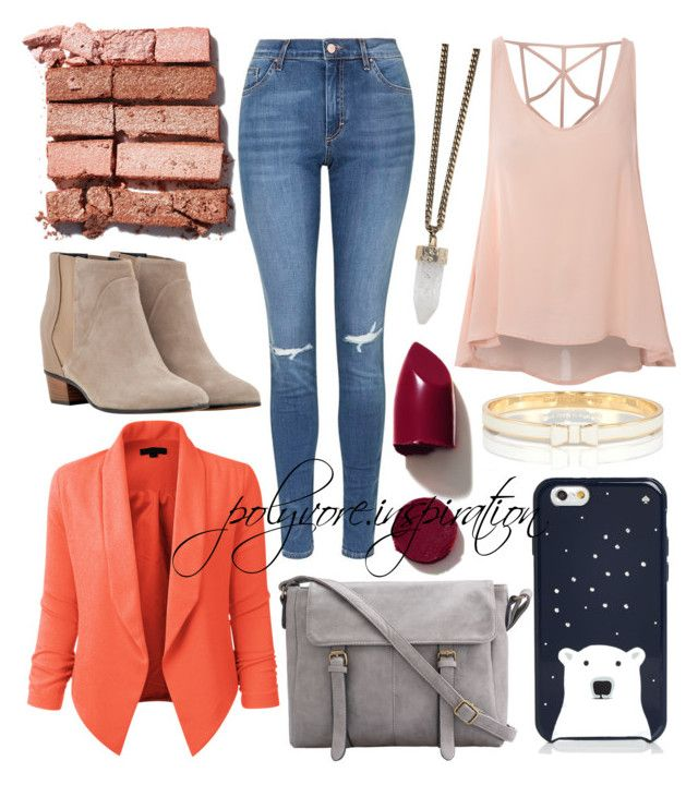 """""""Untitled #186"""" by loveemyself on Polyvore featuring Glamorous, Topshop, Golden Goose, Kate Spade, LE3NO, NARS Cosmetics, Givenchy, Bobbi Brown Cosmetics, women's clothing and women"""