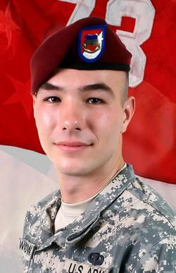 Army Cpl. Ryan A. Woodward  Died September 8, 2007 Serving During Operation Iraqi Freedom  22, of Fort Wayne, Ind.; assigned to 1st Squadron, 73rd Cavalry Regiment, 2nd Brigade Combat Team, 82nd Airborne Division, Fort Bragg, N.C.; died Sept. 8 in Balad, Iraq, of wounds sustained from small-arms fire when insurgents attacked his unit during combat operations.