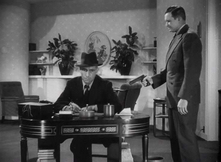 High Sierra (1941) Film Noir, Barton MacLane, Humphrey Bogart