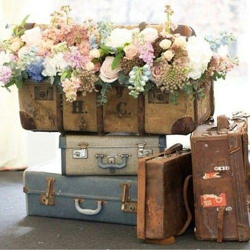 17 Best images about Vintage Luggage Decor on Pinterest | Vintage ...