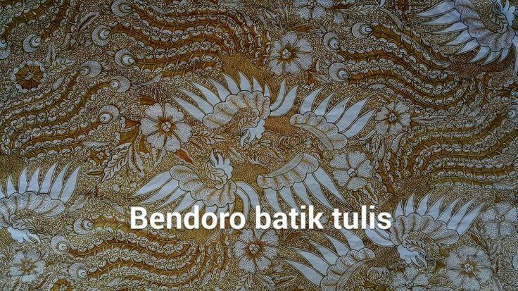 Sawunggaling .bendoro batik tulis solo
