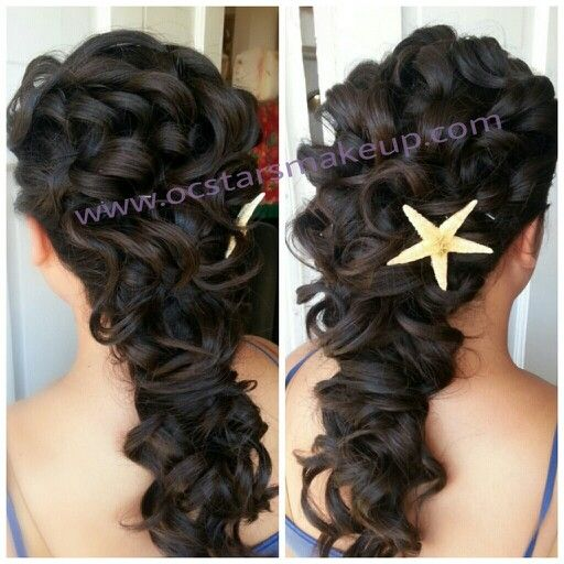 hairstyles for tea party : Go Back > Gallery For > Sweet 16 Hairstyles With Curls