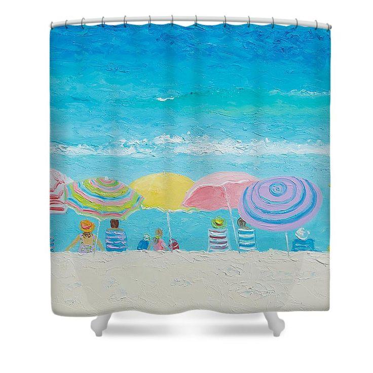 Shower curtains for coastal decor #showercurtains #bathroomaccessories #bathroomdecor #showerscreen