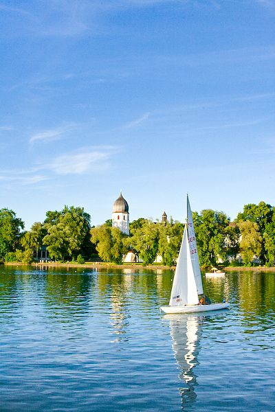 Frauenchiemsee... Lake chiemsee, Germany