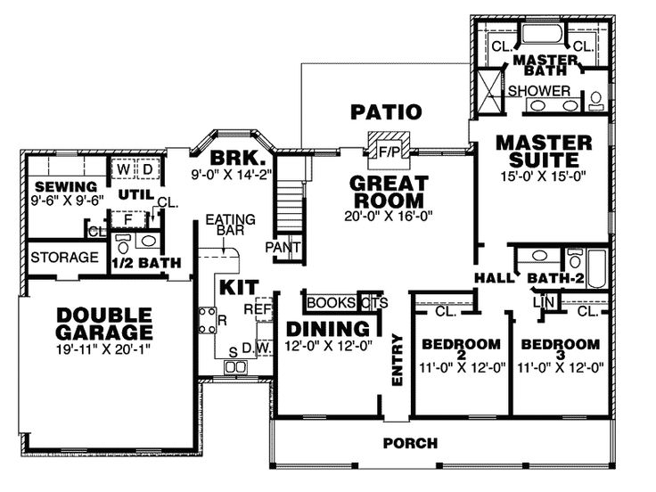 Haversport Southern Country Home Plan 025D-0019 | House Plans and More