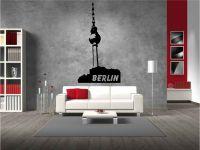 Wandtattoo und Wandaufkleber Berliner Fernsehturm