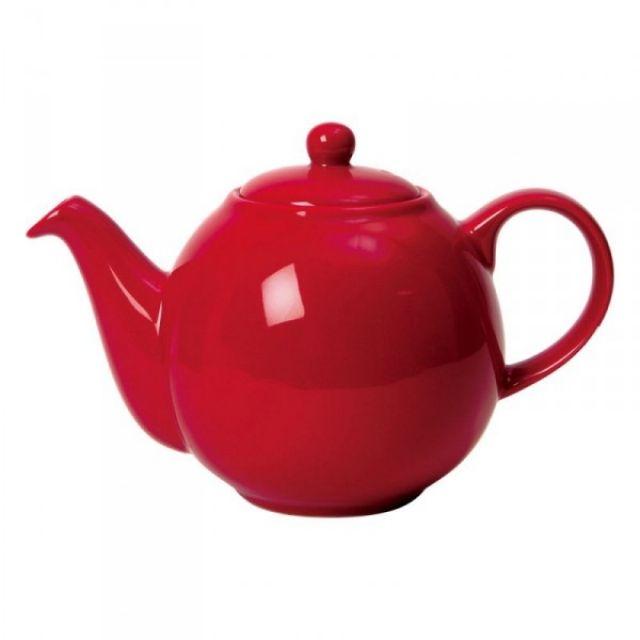 Dzbanek do herbaty Globe, 1,1 l, czerwony LP-17232160