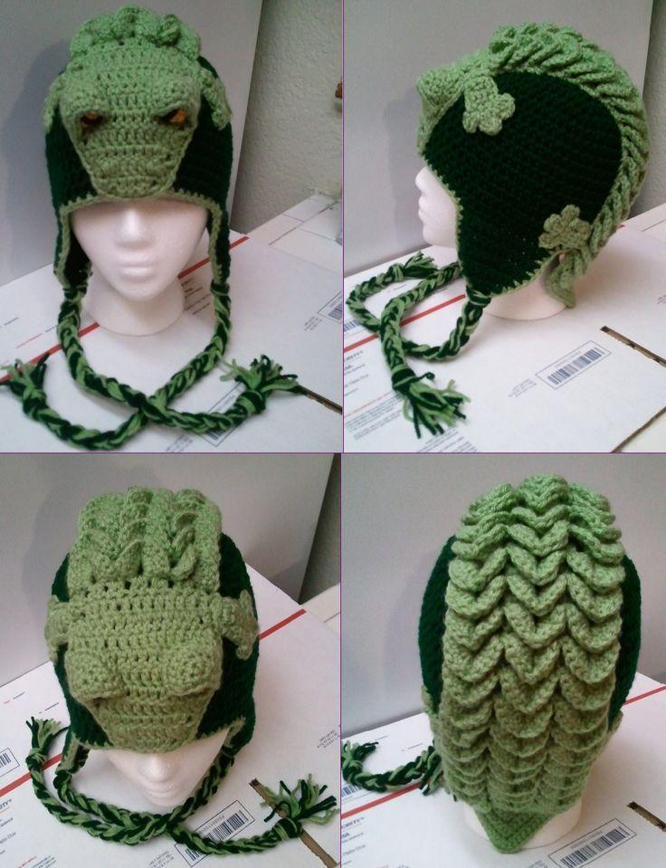 Snappy Simon the Crocodile Hat Pattern by IraRott