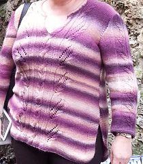 Blusa roxa mesclada