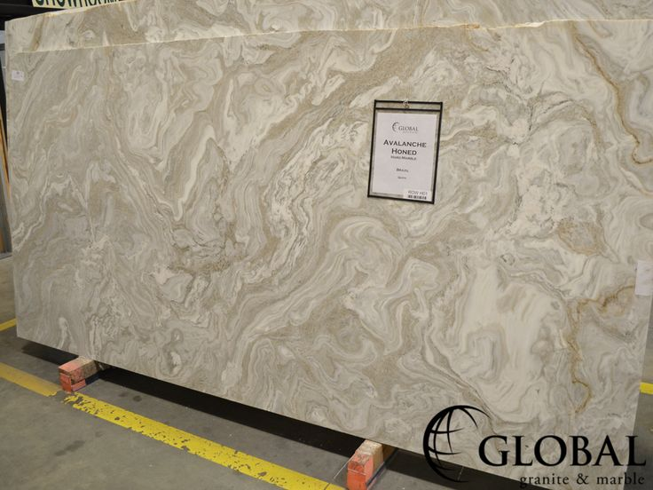 Avalanche Honed Marble Marble Slabs Pinterest Marbles