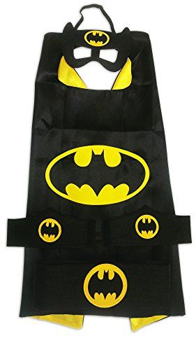 MyTinyHeroes Children's Superhero Costume - 5 Pc Set - Batman * Click on the image for additional details.