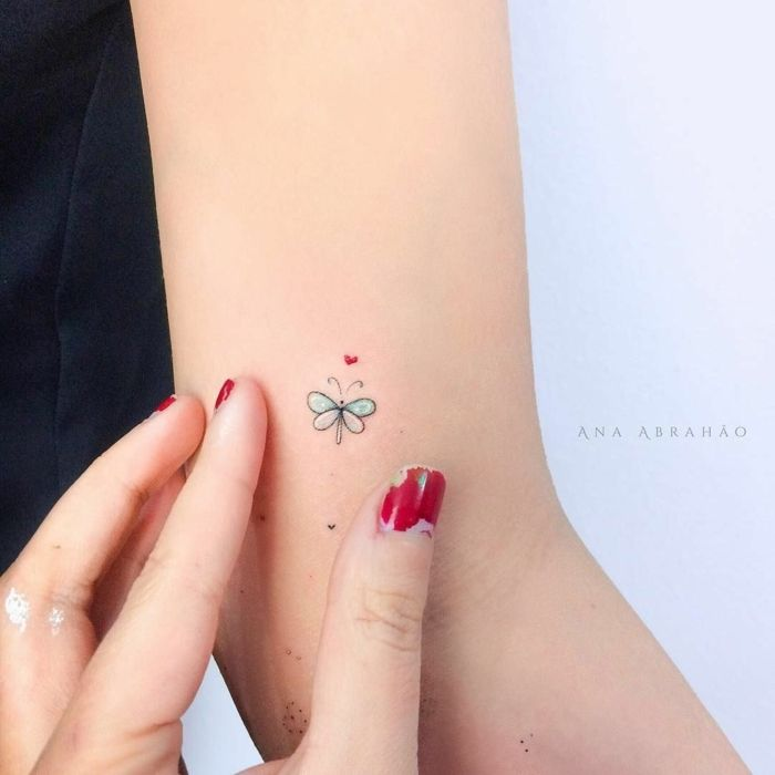 10 Tatuajes de colores para mujer