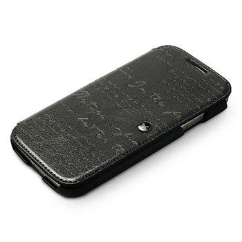 Samsung Galaxy S4 i9500 Zenus Prestige Minimal Diary Läderfodral - Svart