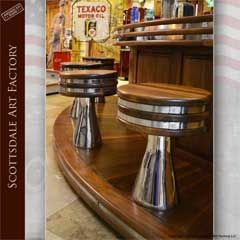 Soda Fountain 1950s Happy Days Custom Bar Reto Style