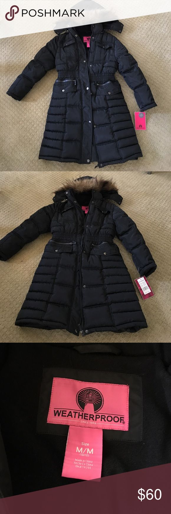 Long Winter Coat 10-12yrs Never used Weatherproof Winter coat for girl 10-12yrs. Faux fur Weatherproof Jackets & Coats Puffers