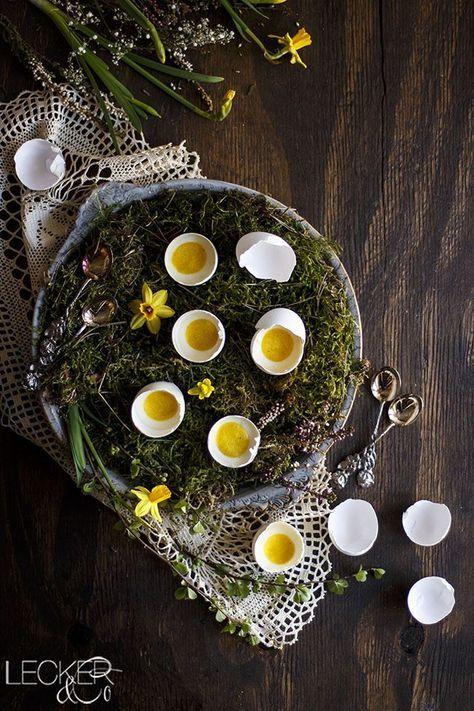 Mini Cheesecake in der Eierschale | Verlosung von Raab Vitalfood