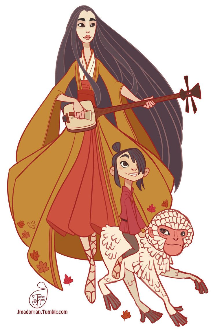 Kubo and the Two Strings Fan Art by MeoMai