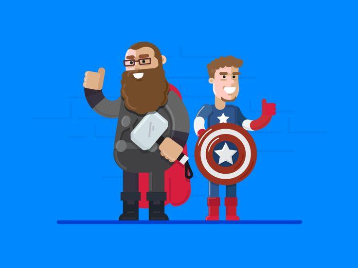 SuperHero Duos