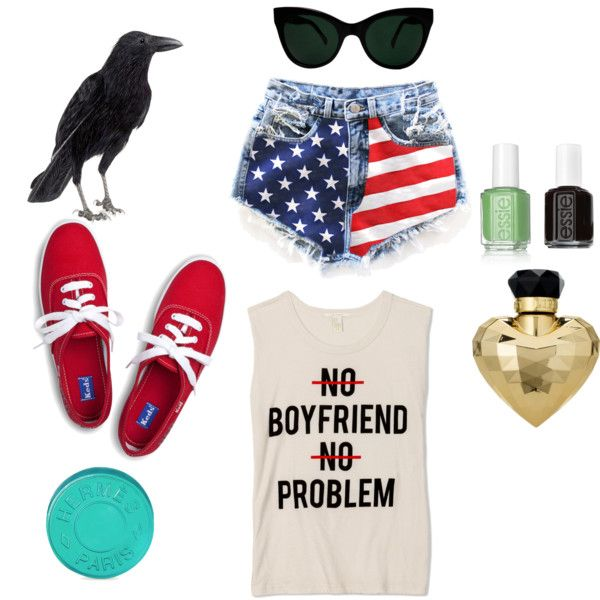 """American"" by kikajit on Polyvore"