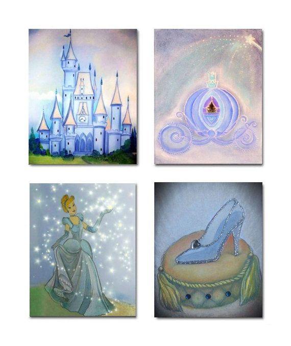 17 best ideas about cinderella nursery on pinterest for Cinderella bedroom ideas