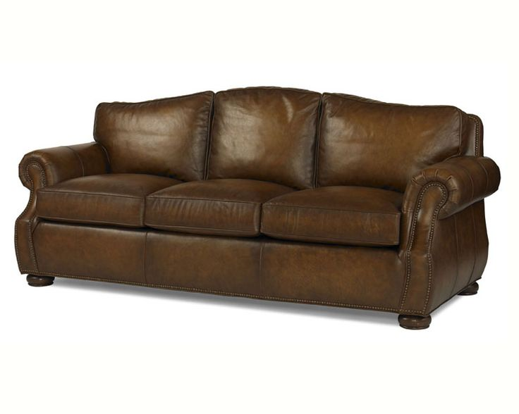 bob timberlake furniture Brandy Leather Sofa
