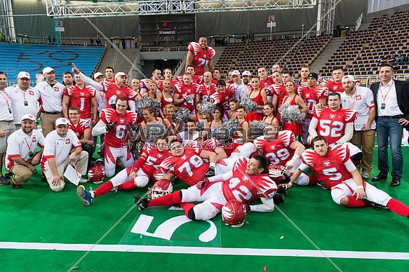 American Football - Poland National Team | © Mariusz Pałczyński / MPAimages.com