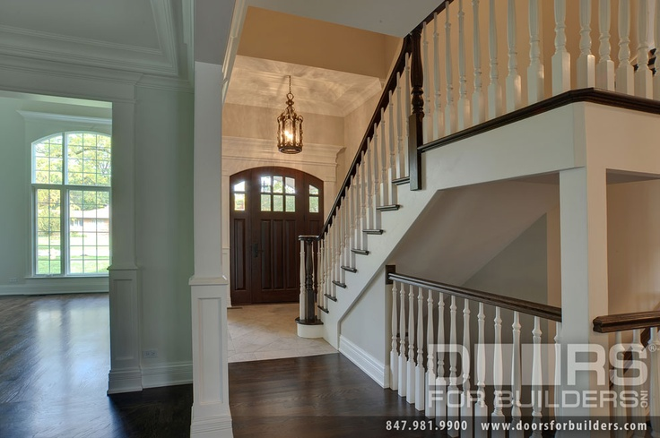 Beautiful Open Stairwell to Basement