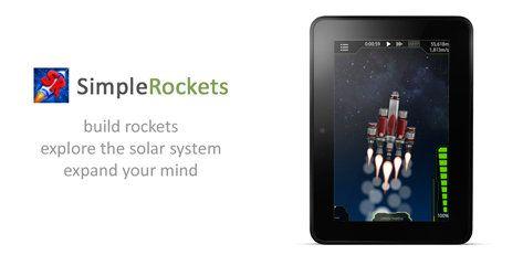 L'applicazione gratuita di oggi è SimpleRockets per Android