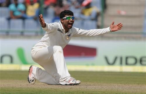 Indian Cricket Player Ravindra Jadeja Test Bowler HD Photos