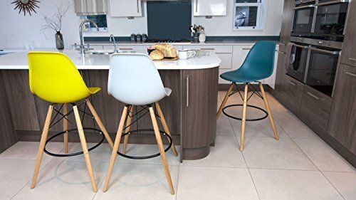 Teal Eames Style Bar Stool Bygd 216 Y Alle Pinterest
