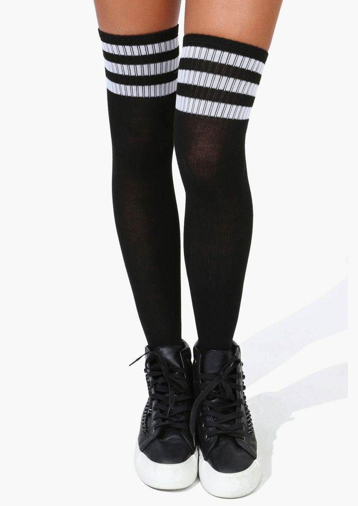 im  sucker for a sexy rocker tube high sock.... my punk rock staple with any ensemble