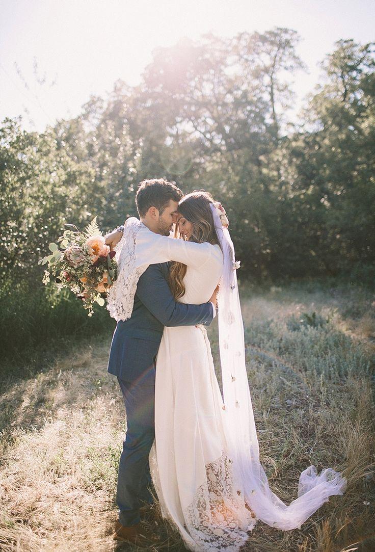 TESSA BARTON wedding in the woods