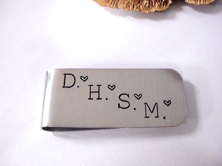 Money Clip, Dad Money Clip, Grandpa Money Clip, Grandma Money Clip, Mom Money Clip, Papa Money Clip by CharmAccents on Etsy