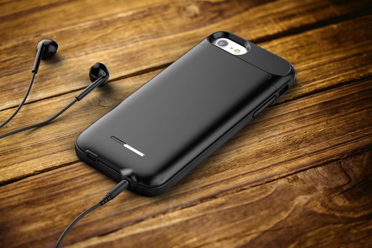 Easily add an audio jack to your iPhone with the AudioMod iPhone Audio Jack Battery Case, featuring a built-in 3.5mm headphone port.