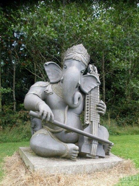 Ganesha, Garden Art, Backyard Ideas, Ganesh, Yard Art, Yard Crashers, Garden  Ideas