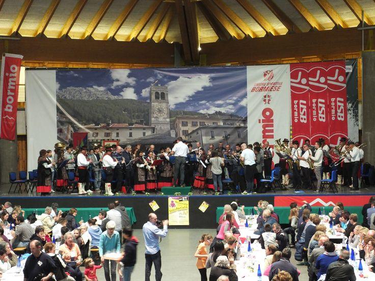 La Filarmonica Bormiese con la Banda di Briosco e Corpo musicale Pio XI Citta di Desio per la festa della Solidarietà 2015, Bormio
