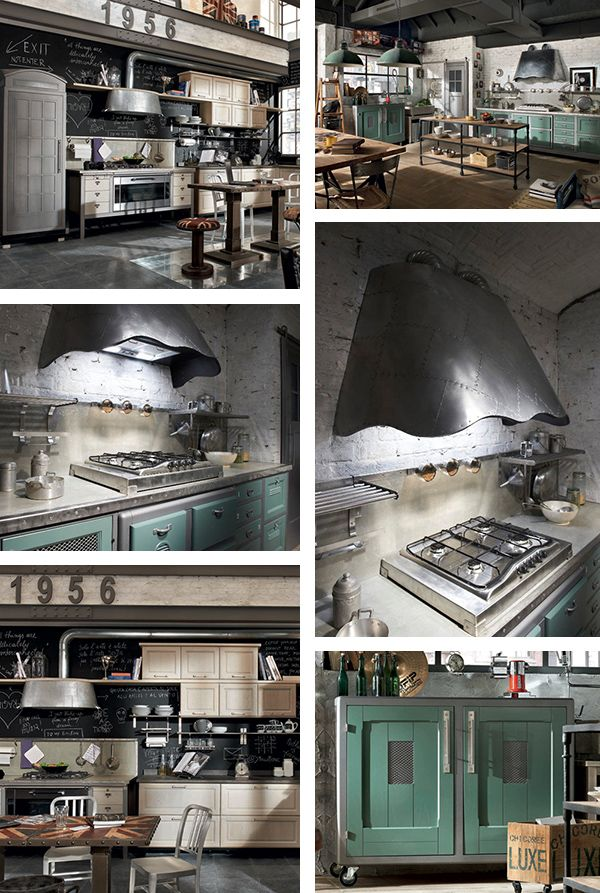 Vintage Style Kitchens by Marchi Group | Modern Interiors