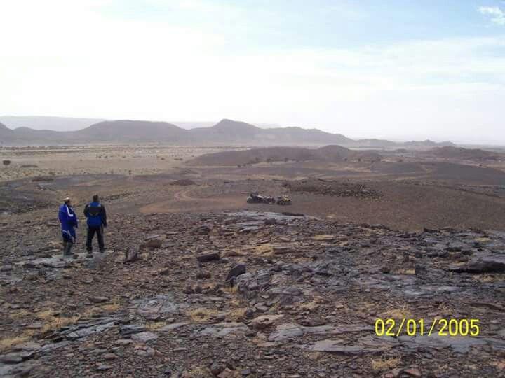 L'immensité du desert