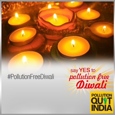 For Diwali gift options, choose from hand-made candles, lampshades, organic gift-baskets, gourmet coffees, special teas or even plants. #PollutionFreeDiwali