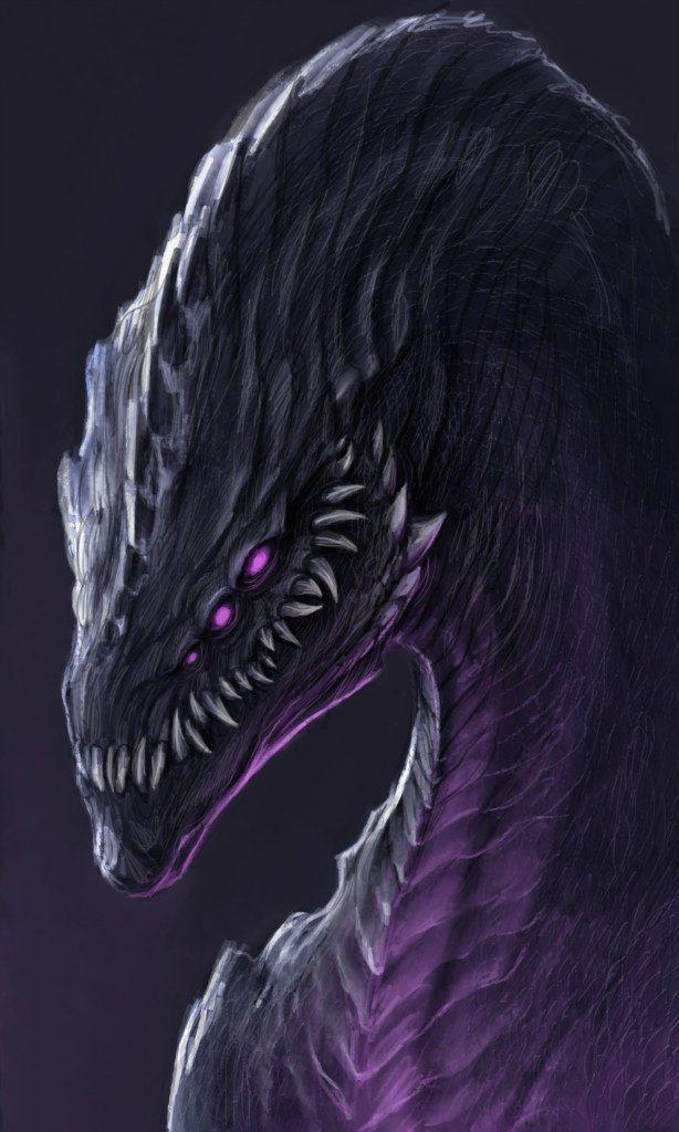 Anime demon dragon