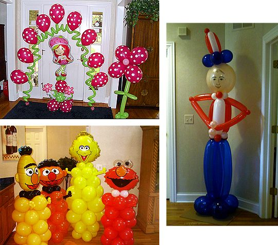 185 Best Images About Balloons Ideas On Pinterest