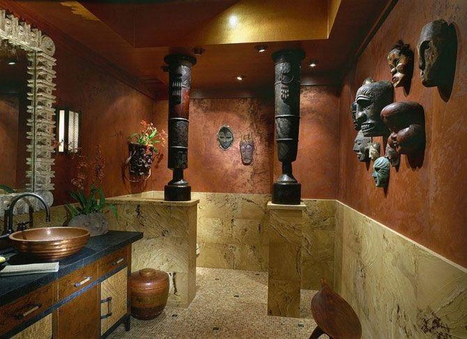 Африканский стиль в интерьере - Home and Garden