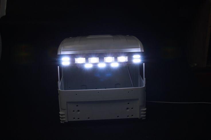 Tamiya 1/14 RC Truck Parts for Tamiya Scania R470 / R620 LED Fog Light Kit