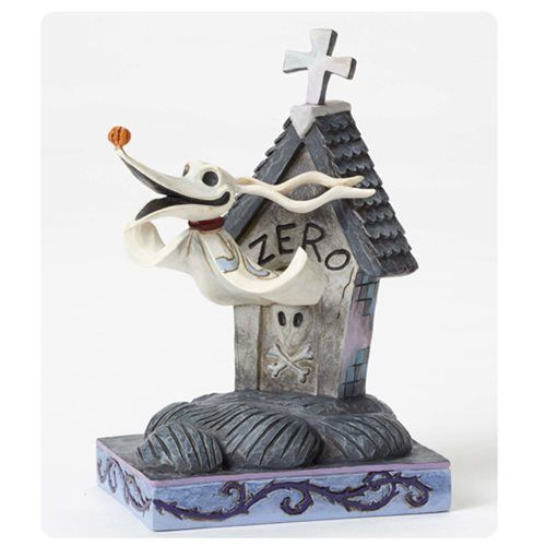 Disney Traditions Nightmare Before Christmas Zero Statue <3 <3 <3