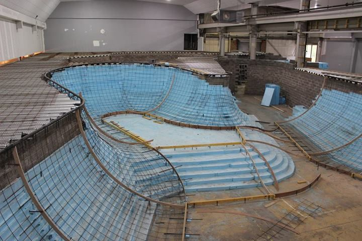 'How to build a skate park', Kaos Skatepark, East Kilbride will be one of the largest indoor skate park in UK. 2014